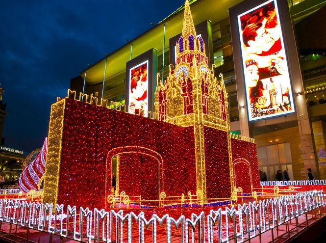 Фото №1 - Новогодние огни большого города