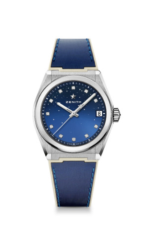 Фото №4 - Космические новинки: Zenith представили женские часы Defy Midnight