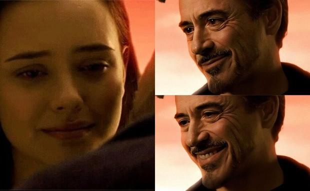 Фото №1 - Братья Руссо объяснили, почему вырезали сцену со взрослой дочерью Тони Старка в финале «Мстителей»