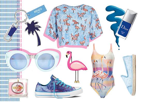 Фото №1 - Wishlist: вещи с фламинго