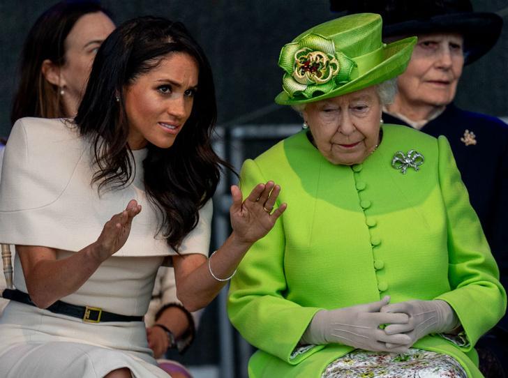 Фото №3 - Меган Маркл сможет называть королеву «мамой» (но это не то, о чем вы подумали)