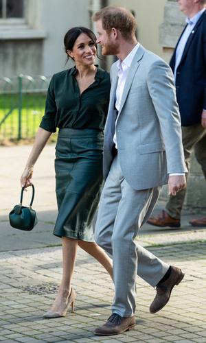 Фото №4 - Гарри и Меган – самая нежная королевская пара Великобритании