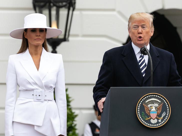 Фото №1 - Дональд Трамп оставил жену Меланию без подарка в день рождения