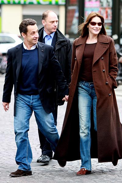 Фото №4 - Очаровать президента с первого взгляда: все о любви Саркози и Бруни
