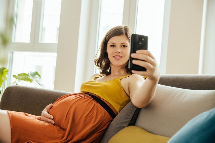Фото №1 - Самая красивая будущая мама. Весна-2019