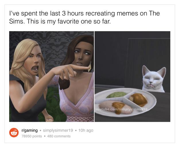 Фото №12 - 25 жизненных и очень смешных мемов по The Sims