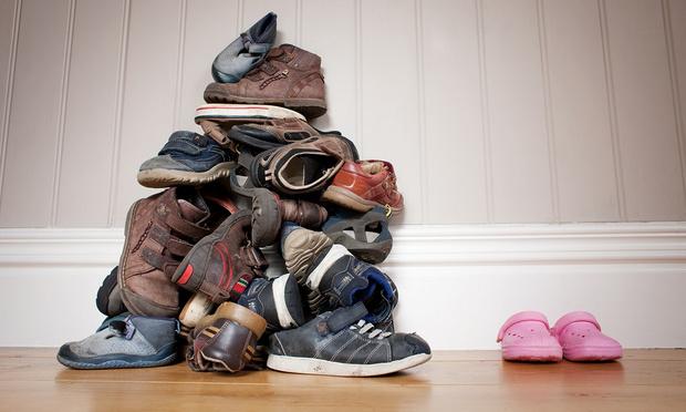 Фото №1 - Гениальный способ навести порядок в обуви раз и навсегда (короткое видео)