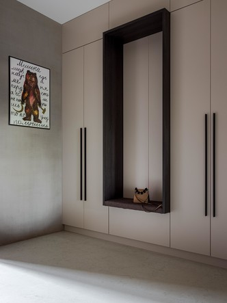 Фото №7 - Московская квартира 130 м² в оливково-кофейной цветовой гамме
