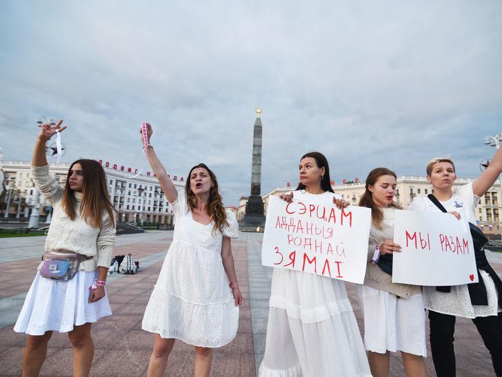 Фото №6 - От желтых жилетов до белых платьев: 6 случаев, когда одежда становилась символом протеста