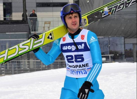 Антон Калиниченко, прыжки с трамплина