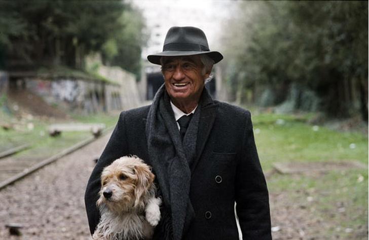 «Человек и его собака», Жан-Поль Бельмондо