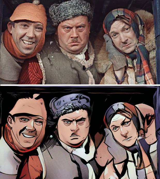 Фото №4 - Российский сайт превращает кого угодно в персонажей комиксов
