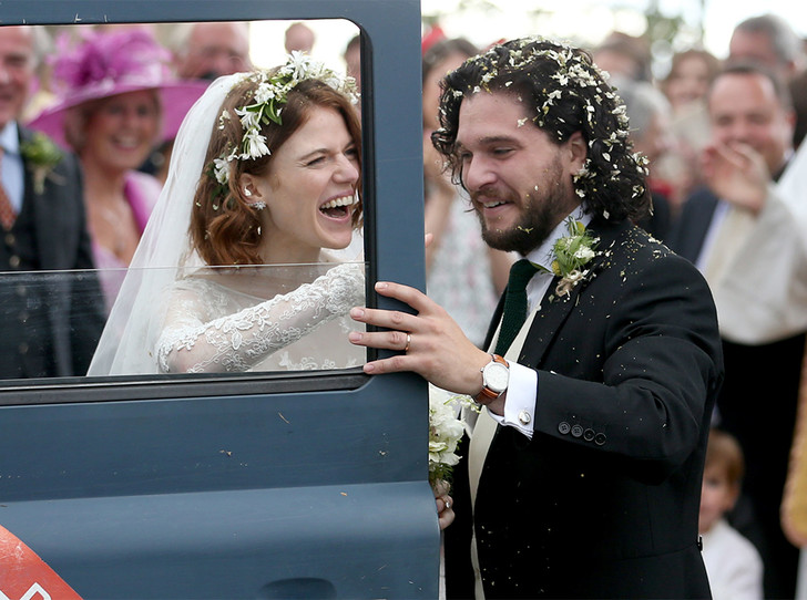 Фото №18 - Свадьба звезд «Игры престолов» Кита Харингтона и Роуз Лесли