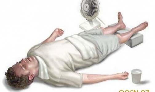 Фото №1 - Первая помощь при тепловом ударе