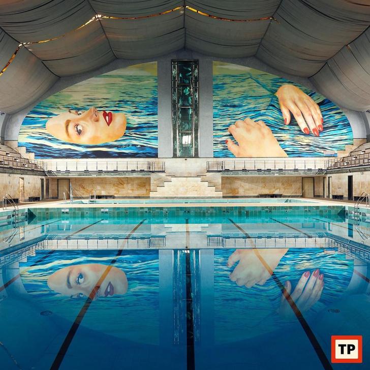 Фото №1 - Яркий новый облик бассейна 1930-х годов в Милане