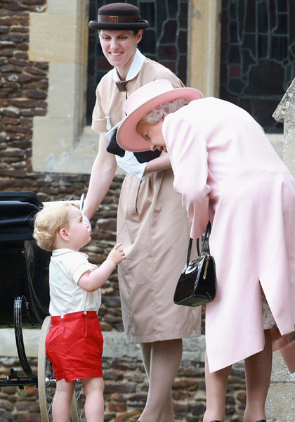 Фото №37 - Принц Джордж Кембриджский: три года в фотографиях