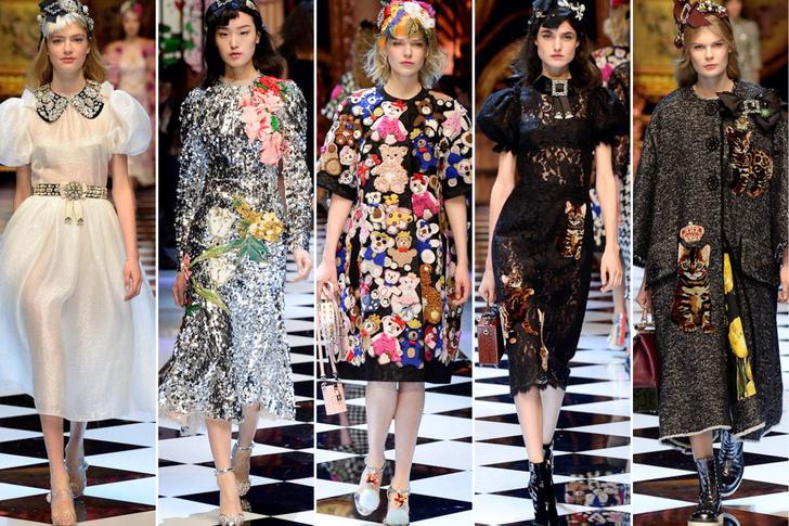Dolce&Gabbana, осень-зима 2016/17