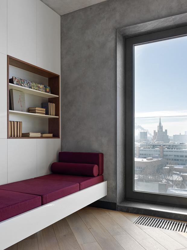 Фото №6 - Апартаменты в стиле минимализм на Маяковской