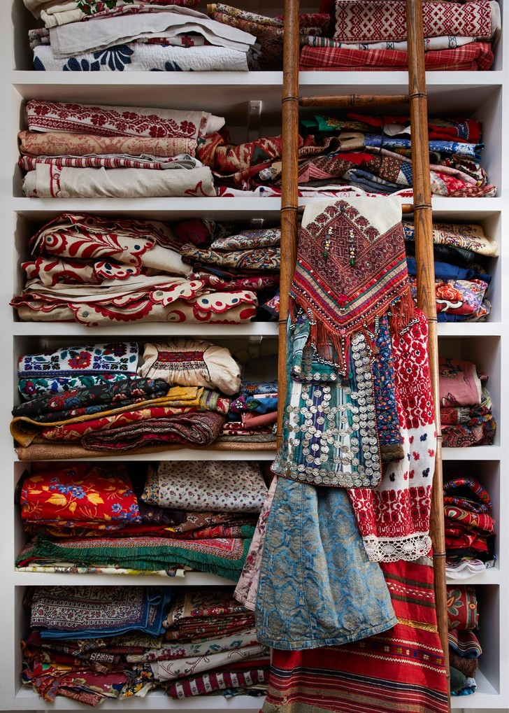 Фото №4 - Дом текстильного дизайнера Натали Фарман-Фармы в Лондоне