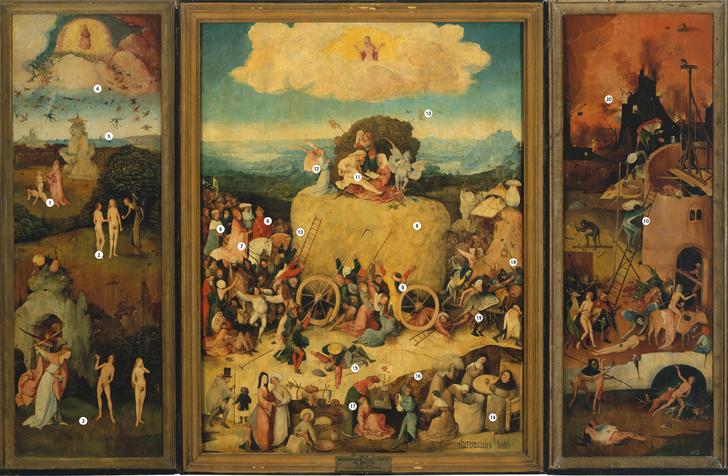 Фото №1 - Причины и последствия: обличение смертных грехов на картине Иеронима Босха