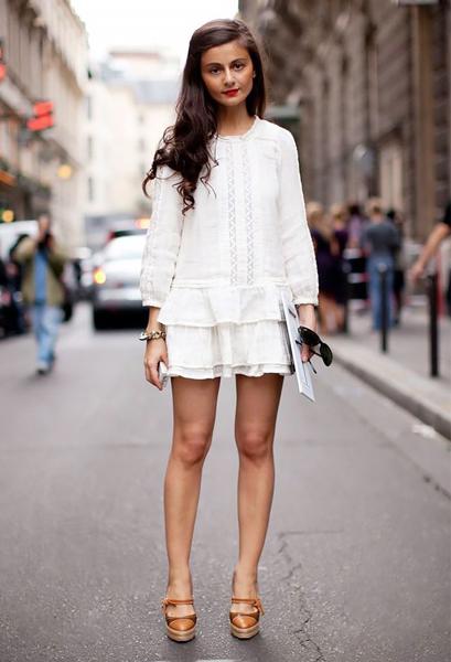 Фото №1 - Тренд лета: как носить платье в крестьянском стиле