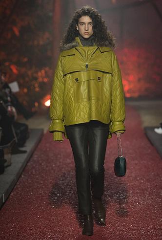 Фото №8 - Как сочетать кожаные вещи между собой: мастер-класс от Hermès FW18-19