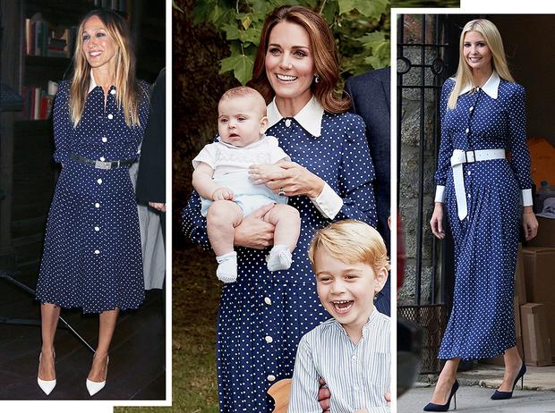 Фото №1 - 5 в 1: актрисы, светские львицы и принцессы в одном и том же платье