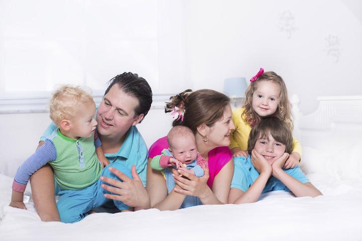 Фото №1 - Чем больше детей, тем счастливее семья