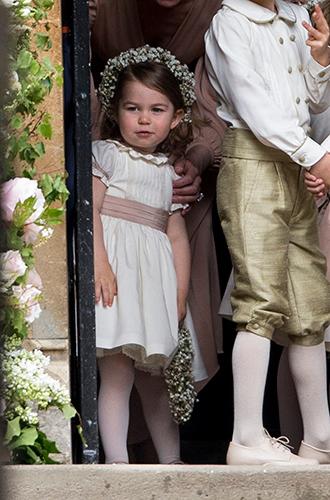 Фото №14 - Принцесса Шарлотта и принц Джордж на свадьбе Пиппы Миддлтон (фото)
