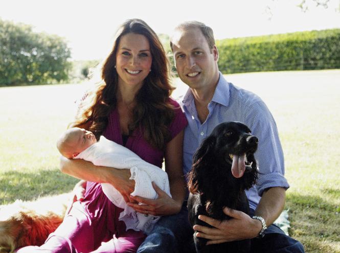 Фото №5 - Принц Джордж Кембриджский: три года в фотографиях