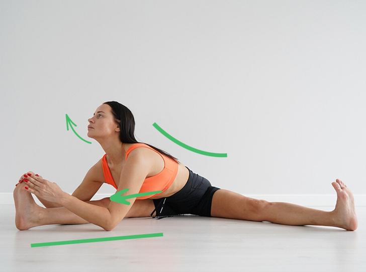 Фото №4 - Тренировка гимнастов: 5 простых упражнений для гибкости