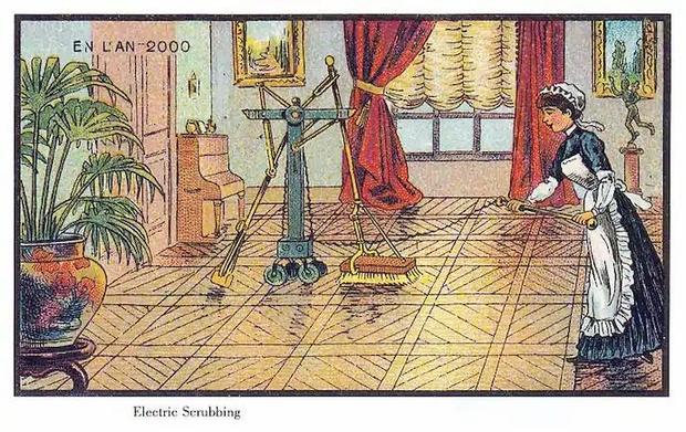 Фото №2 - Как люди изображали наше время сто лет назад