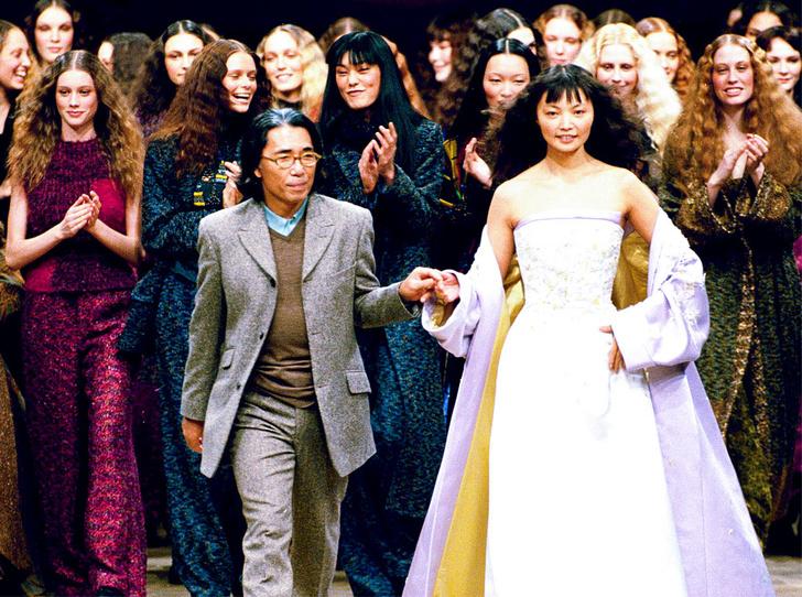 Фото №1 - Между Востоком и Западом: как Кензо Такада перевернул наше представление о моде