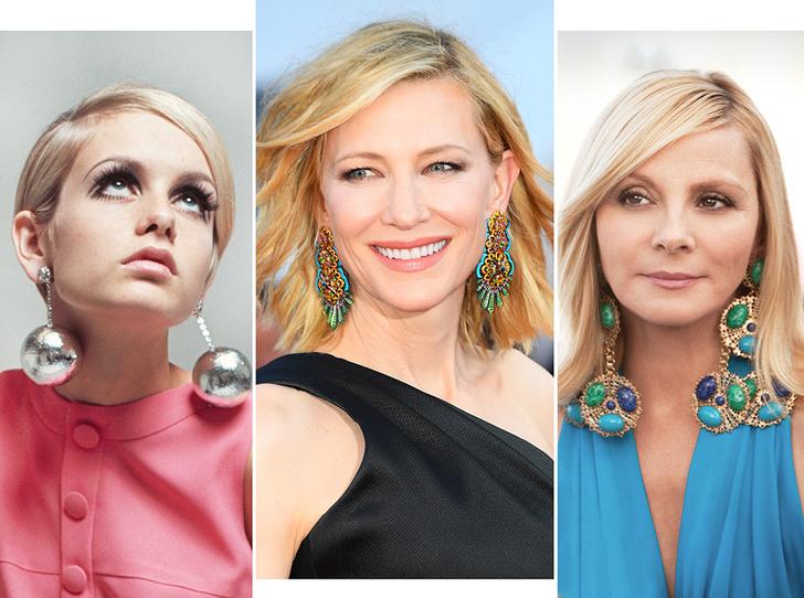 Фото №1 - Серьги с претензией: что такое statement earrings и почему они вам нужны