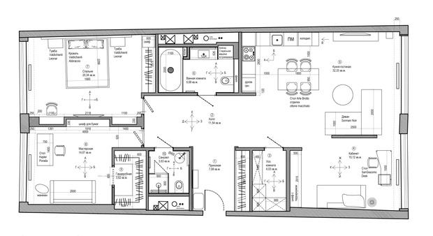 Фото №18 - Современная квартира со свободной планировкой 120 м²