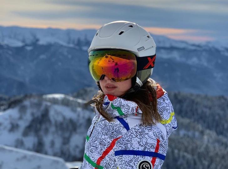 Фото №1 - Катерина Шпица: «Для меня французские Альпы – это горнолыжная романтика»
