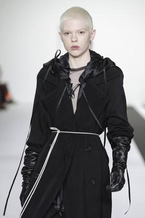 Ann Demeulemeester, осень-зима 2019