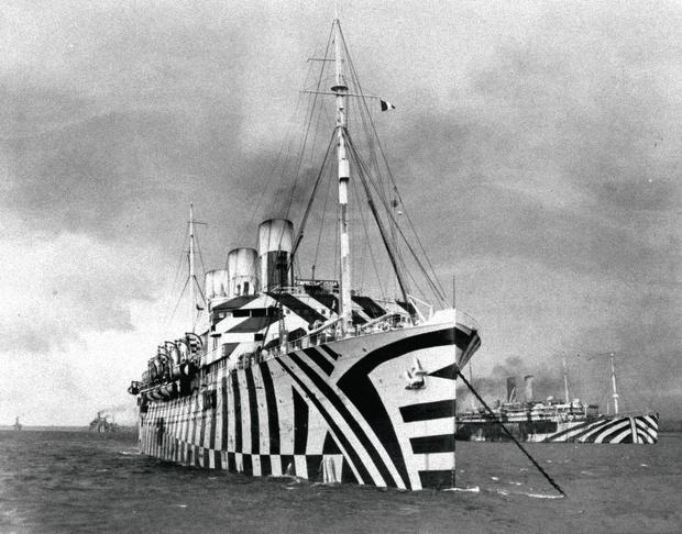 Британское судно «Килданган», 1918г.