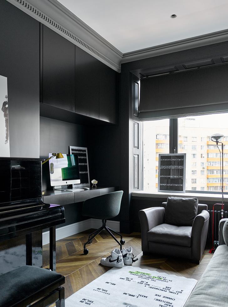 Фото №12 - Московская квартира 300 м² с английским акцентом