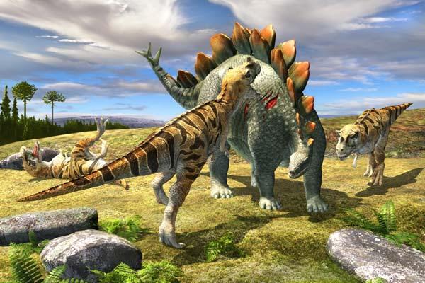 Фото №1 - Вооружение эпохи динозавров