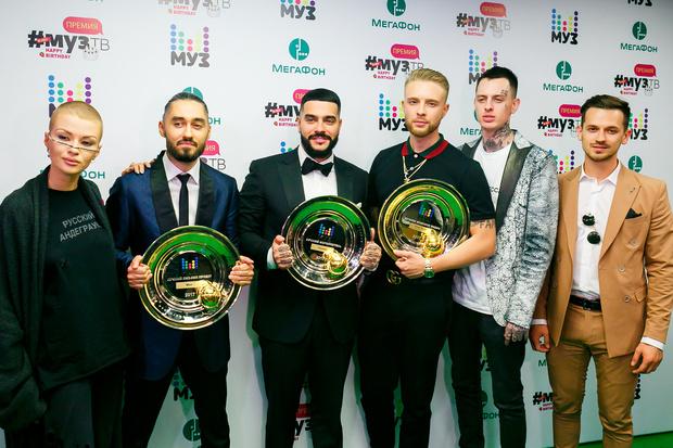 Фото №1 - Объявлены победители ежегодной «Премии МУЗ-ТВ 2017»