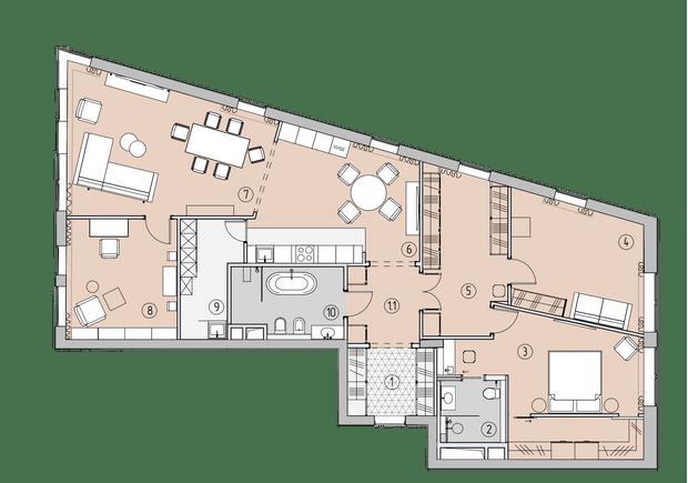 Фото №16 - Квартира с удобными гардеробными в Москве