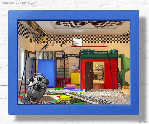 Фото №12 - Комната-мечта: 7 детских, созданных по рисункам малышей