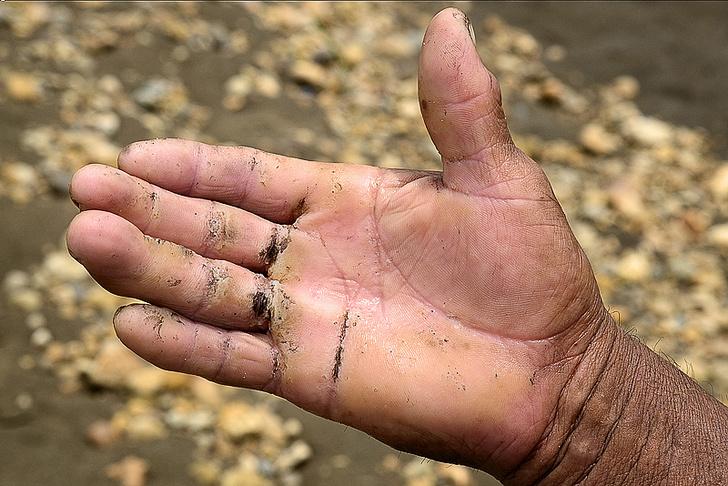 Фото №12 - Фоторепортаж: как добывают золото в джунглях Перу