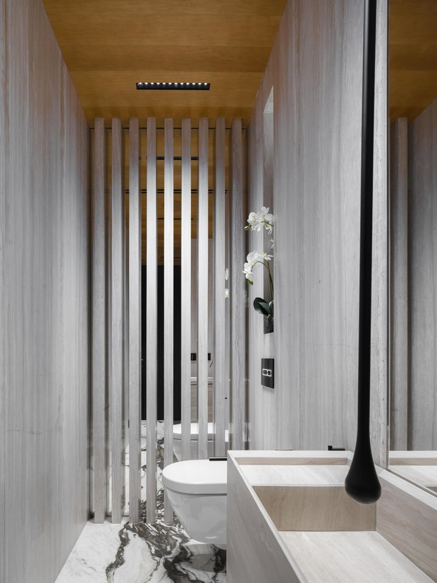 Фото №12 - Московская квартира 222 м² в стиле роскошный минимализм