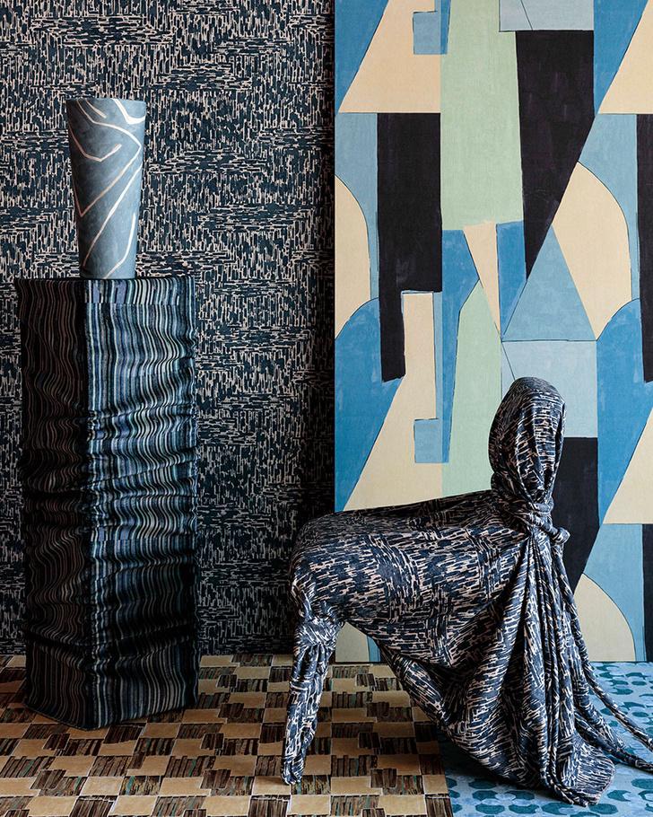 Фото №8 - Новая коллекция ткани и обоев от Келли Уэстлер