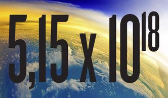 Фото №1 - Сколько весит весь воздух на Земле?