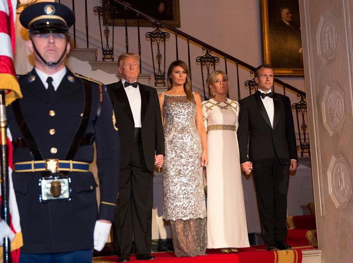 Фото №18 - Как Трамп Макрона принимал: самые яркие детали госвизита французской Первой пары в США