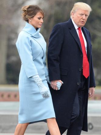 Фото №4 - Копия не верна: почему Мелании Трамп так и не удалось стать второй Жаклин Кеннеди