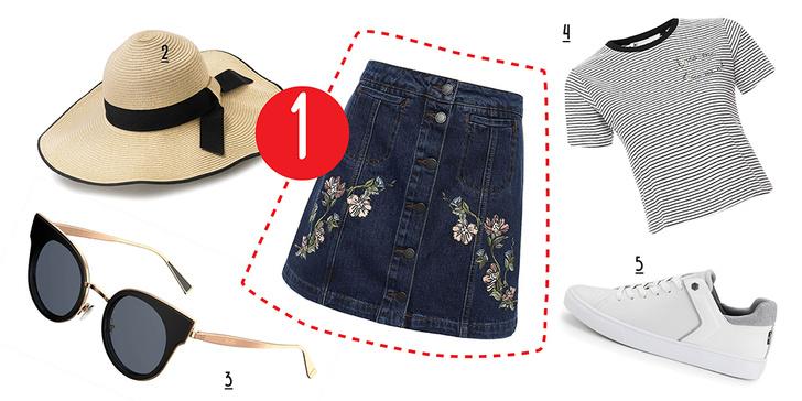 Фото №3 - С чем носить юбку с пуговицами